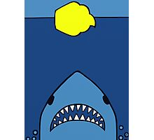 Jaws Has A Sweet-Tooth  Photographic Print