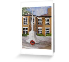 Cenotaph. Greeting Card