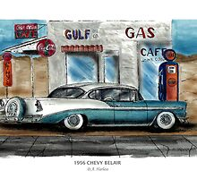 1956 CHEVY BELAIR by designsnimages