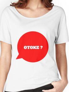 OTOKE ? - BLACK Women's Relaxed Fit T-Shirt