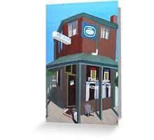 Newry Street Milk Bar Greeting Card