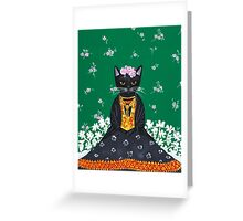 Frida Catlo Greeting Card
