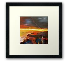 Morning Mystery Framed Print