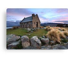 Church of the Good Shepherd, Lake Tekapo, New Zealand Canvas Print