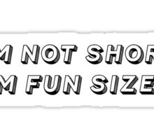 Fun Sized Sticker