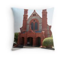 """St Peter and St Pauls Roman Catholic Church"" Throw Pillow"