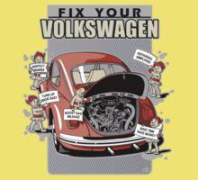 Fix your VW Beetle 2 Kids Clothes