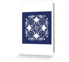 Ray ZOOFLAKE Greeting Card
