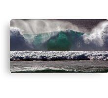 Pacific Blue Canvas Print