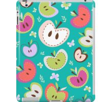 Cute Apple Pattern iPad Case/Skin