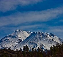 Mount Shasta by Louis Powell