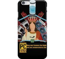 The Master Race iPhone Case/Skin