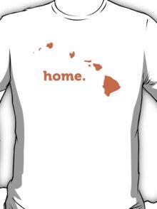 Hawaii Home Orange T-Shirt
