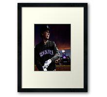 Will Ferrell Colorado Rockies Framed Print