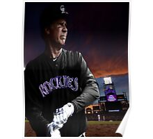 Will Ferrell Colorado Rockies Poster