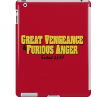 Great Vengeance and Furious Anger iPad Case/Skin