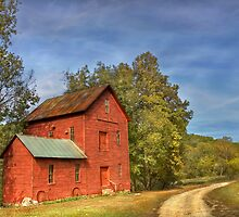 Topaz Mill in Rural Douglas County Missouri by Jerry E Shelton