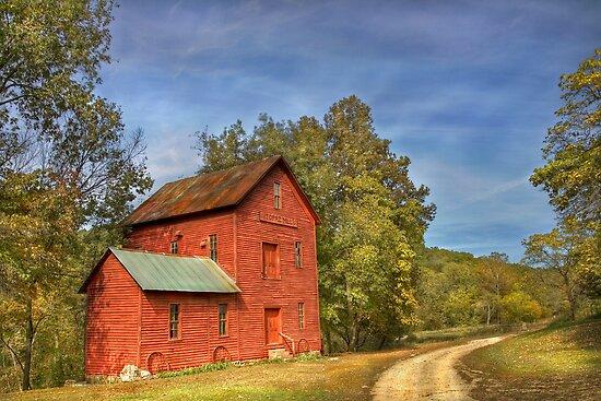 Topaz Mill in Rural Douglas County Missouri by Jerry E Shelton