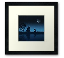 The Friend of the Night Framed Print