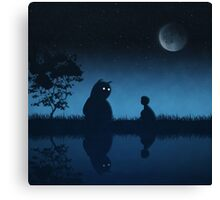 The Friend of the Night Canvas Print
