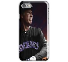 Will Ferrell Colorado Rockies iPhone Case/Skin