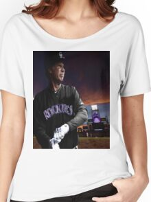 Will Ferrell Colorado Rockies Women's Relaxed Fit T-Shirt