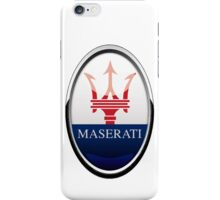 Maserati Logo iPhone Case/Skin