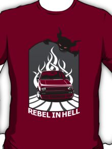 VW Mk - Rebell in Hell (for dark) T-Shirt