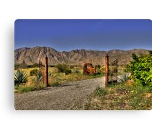Unwelcome entry Canvas Print