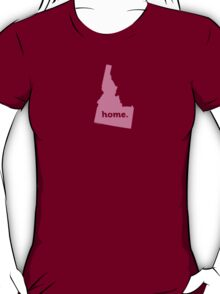 Idaho Home Pink T-Shirt