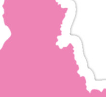 Idaho Home Pink Sticker