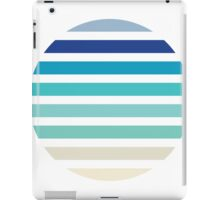 Beach- Sand, Ocean, Sky Color Theme iPad Case/Skin