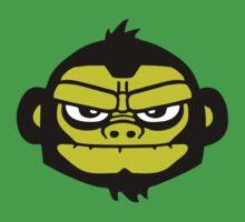 gorilla head ape singe gorille T-Shirt