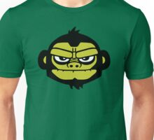 gorilla head ape singe gorille Unisex T-Shirt