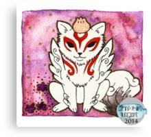Amaterasu from Okami 02 Canvas Print