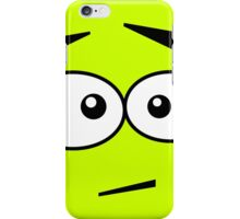 Faces, Ops! iPhone Case/Skin
