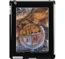 Grand Canyon Tower Abstract No 2 Open Edition Poster iPad Case/Skin