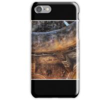 Grand Canyon Tower Wall Abstract No 3 iPhone Case/Skin