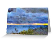 Rain Squall  Greeting Card