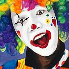 Rainbow Clown by psovart