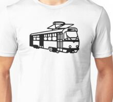 Trolley car tram Unisex T-Shirt
