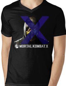 Mortal Kombat Merge Mens V-Neck T-Shirt