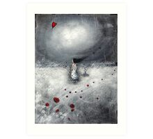 Let your heart find its way.... Art Print