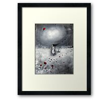 Let your heart find its way.... Framed Print