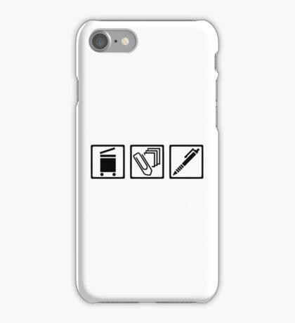 Office equipment iPhone Case/Skin