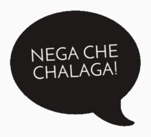 NEGA CHE CHALAGA - BLACK One Piece - Long Sleeve