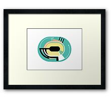 Abstract '80s 02 Framed Print