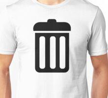 Trash bin symbol Unisex T-Shirt