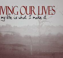 LIVING OUR LIVES © Vicki Ferrari Photography by Vicki Ferrari