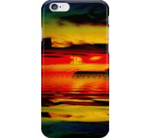 Morning of Reflection Reactionist iPhone Case/Skin